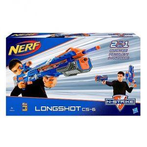 Hasbro Nerf Elite Longshot CS-6 (2 en 1)