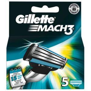 Gillette Mach3  - 5 lames de rasoir
