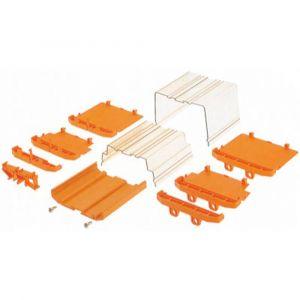 Weidmuller Pièce dextrémité de boîtier pour rail AP 100 1185060000 108.2 x 27.2 x 23.8 20 pc(s)