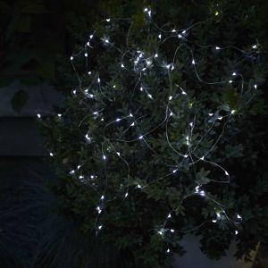 Luxform Guirlande lumineuse à LED solaire de jardin Sevilla
