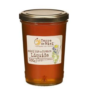 Terre de miel Miel toutes fleurs liquide bio France 250 g