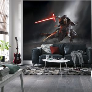 Papier Peint Kylo Ren Star Wars Episode Vii 368 X 254 Cm