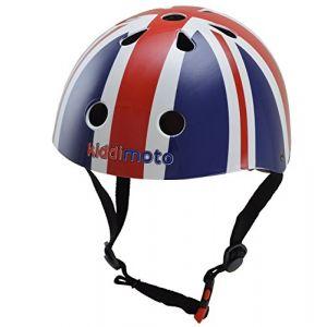 Kiddimoto Union Jack taille S - Casque vélo enfant