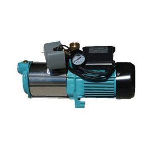 Omni Pompe d'arrosage POMPE DE JARDIN pour puits 1300W 100l/min avec équipement : interrupteur, manomètre
