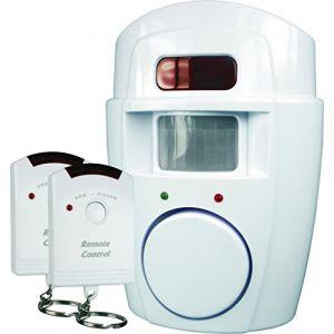 Smartwares MINI ALARME SW SC09 - MINI ALARME A DETECTION DE MOUVEMENTS ( 2 télécommandes)