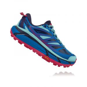 Hoka One One Mafate Speed 2 Chaussures Femme, imperial blue/antigua sand US 7   EU 38 2/3 Chaussures trail