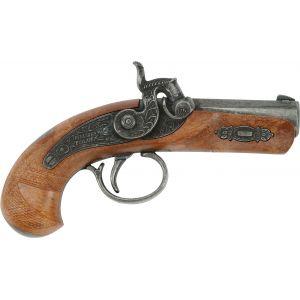 Schrödel Pistolet en métal et plastique : Spécial Philadelphie (1 coup)