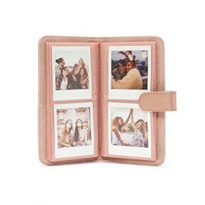 Fujifilm Instax SQ 6 Album rosé or p. 80 Instax Square photos