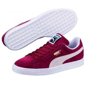 Puma Baskets basses suede classic rouge bordeaux 36