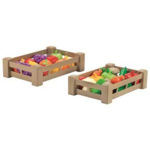 Ecoiffier Cagettes de fruits ou de légumes (modèle aléatoire)