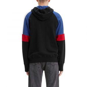 Levi's Sweat zippé à capuche Pieced Noir/Bleu - Taille L;M;S;XL