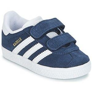 Adidas Gazelle CF I, Chaussures de Fitness Mixte Enfant, Bleu (Maruni/Ftwbla 000), 27 EU
