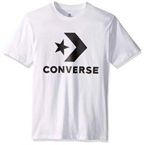 Converse Tee-shirt Star Chevron pour Homme White L