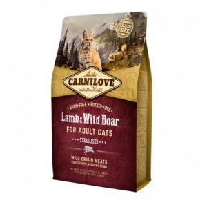 Carnilove Adult Sterilised Lamb & Wild Boar - Sac 2 kg