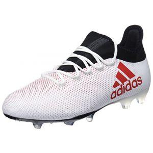 Adidas X 17.2 FG, Chaussures de Football Homme, Multicolore (Greyreacorcblack), 44 EU