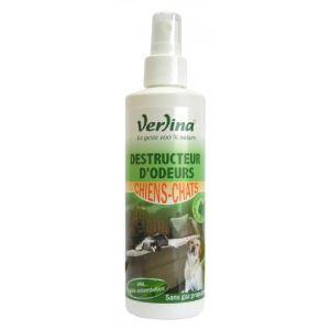 Verlina Destructeur d'odeurs pour chiens et chats