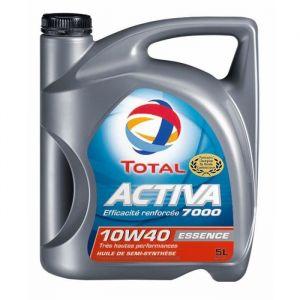 Total Huile moteur Activa 7000 10W40 Essence 5 L