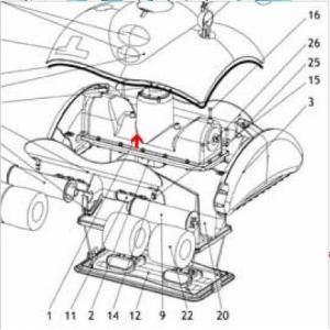 Procopi 1019071 - Bloc moteur pour boite relais ronde de Lazernaut