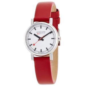 Mondaine A658.30301 - Montre pour femme avec bracelet en cuir