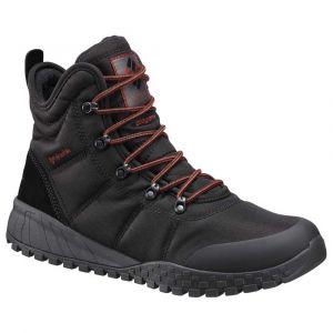 Columbia Chaussures après-ski Fairbanks Omniheat - Black / Rusty - Taille EU 41