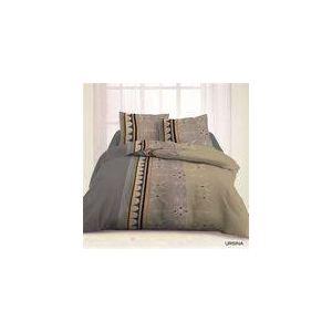 Les douces nuits de Maé Ursina - Housse de couette et 2 taies en polycoton (220 x 240 cm)