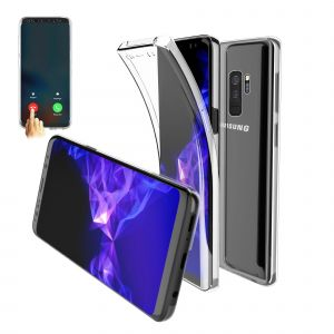 82d4e05beb4a00 CaseInk Coque Gel galaxy s9 plus 360 degres Protection INTEGRAL Anti Choc ,  Etui Ultra Mince