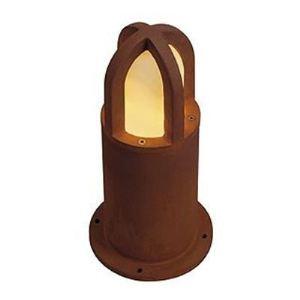 SLV 229431 - Borne extérieure Rusty Cone 40 cm en fonte rouillée