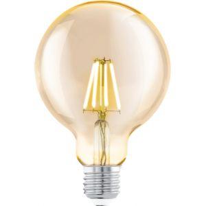 Eglo Ampoule LED style vintage E27 G95 Amber 11522