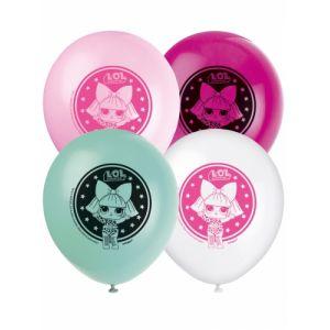 8 Ballons en latex Lol Surprise 30 cm