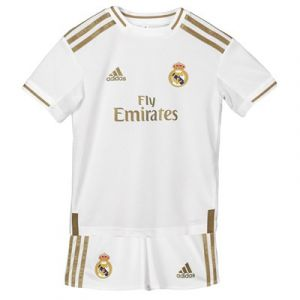 Adidas Kit Mini Domicile Real Madrid 2019-20 - Couleur White - Taille 18-24 Months