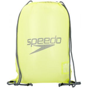 Speedo Equipment Mesh Sac de Natation Mixte Adulte, Lime Punch/Oxid Grey, Taille Unique