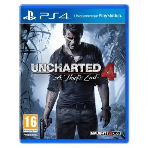 Uncharted 4 : Thief's End [PS4]