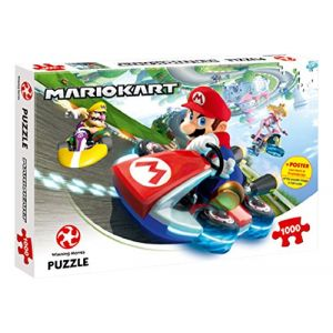 Winning Moves Mario Kart Fun Racer - Puzzle 1000 pièces
