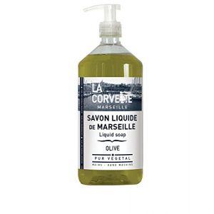 La Corvette Savon liquide de Marseille Olive 1 L