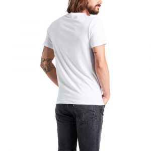Levi's T-shirt GRAPHIC SETIN NECK 2 SSNL PHOTO2 blanc - Taille EU S,EU M