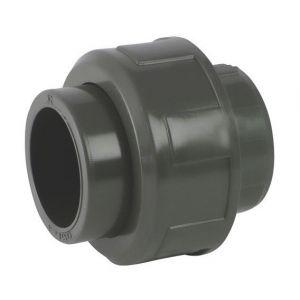 Codital Raccord union 3 pièces PVC pression à coller FF Ø20 de - Catégorie Raccord PVC pression