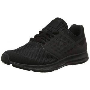 Nike Downshifter 7 (GS), Chaussures de Running Compétition garçon, Noir (Black/Black 004), 36 EU