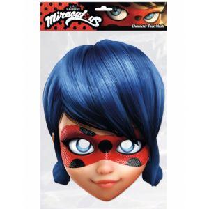 Masque carton Lady Bug Miraculous