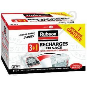 Rubson Recharge absorbeur lot de 3+1 gratuit