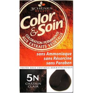 3 Chênes Color & Soin 5N châtain clair - Coloration permanente