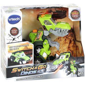 Vtech Switch & Go Dino - Drex, Super T-Rex Jeep