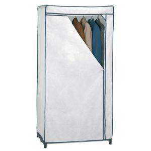 Rayen Armoire en tissu (77 x 155 cm)