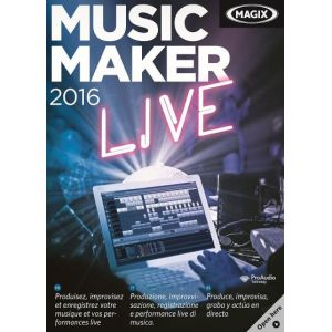 Music Maker 2016 Live [Windows]