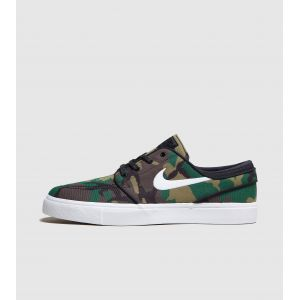 Nike Chaussure de skateboard SB Zoom Stefan Janoski Canvas pour Homme - Olive - Taille 40 - Homme