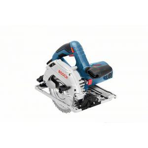 Bosch Professional GKS 55+ GCE + FSN1600 ø165mm + L-BOXX - Scie circulaire 1350W