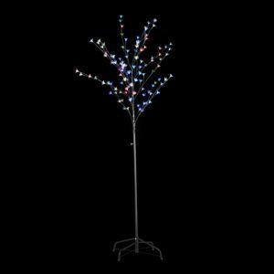 Arbre lumineux LED 180 cm clignotant multicolore