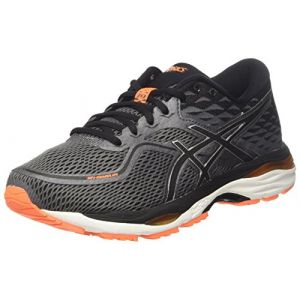 Asics Gel-Cumulus 19, Chaussures de Running Compétition Homme, Noir (Carbon/Black / Hot Orange), 39.5 EU