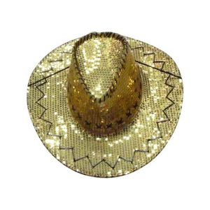 Chapeau cow boy paillettes