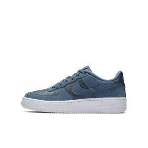 Nike Chaussure de basket-ball Chaussure Air Force 1-1 pour Enfant plus âgé - Bleu - Couleur Bleu - Taille 36.5