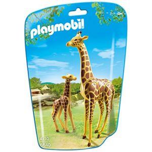Playmobil 6640 City Life - Sachet girafe et girafon